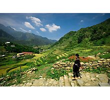 Sapa Countryside Photographic Print