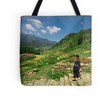 Sapa Countryside Tote Bag