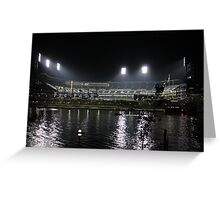 PNC Park at Night Greeting Card