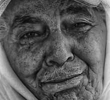 Old Woman in Morocco by DareImagesArt