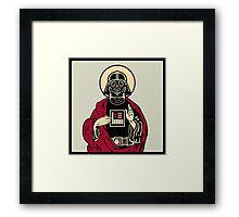 Father Vader Framed Print