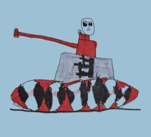 Tank Time by Robert 8 Years Old One Piece - Short Sleeve