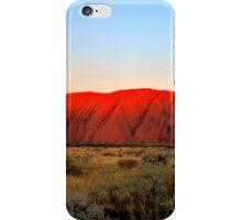 Red Uluru iPhone Case/Skin