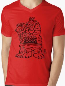 DAIKAIJU SULTANA Mens V-Neck T-Shirt
