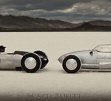 Beach Bullet at Bonneville Salt Flats by Brandon Taylor
