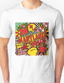 University of Maryland Collage T-Shirt
