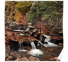 Beaver River, Late Fall Poster