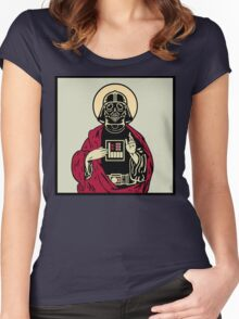 Father Vader Women's Fitted Scoop T-Shirt