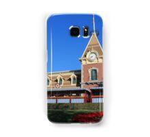 Disneyland Main Street Train Station Samsung Galaxy Case/Skin