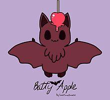 Sweet Treat Friends - Batty Apple the Bat by OhSweetie