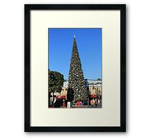 Disneyland Christmas Tree Framed Print