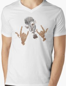 Devil Horns (Colour Version) Mens V-Neck T-Shirt