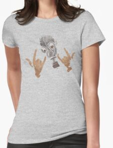 Devil Horns (Colour Version) Womens Fitted T-Shirt