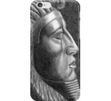 The X in SphinX: Amenemhat III iPhone Case/Skin