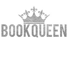 Book Queen - Silver by bboutique
