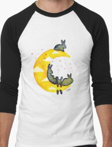 Hanging on the Moon Men's Baseball ¾ T-Shirt