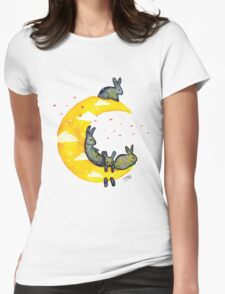Hanging on the Moon Womens T-Shirt