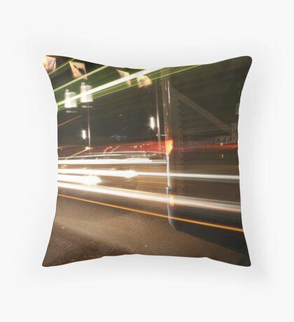 bus-stop Throw Pillow