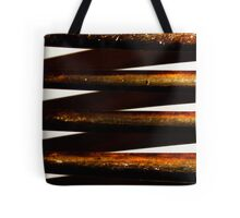 Prongs of an old fork Tote Bag