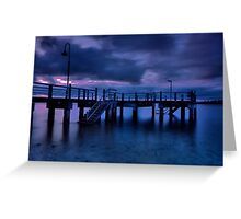 Baxter's Jetty Greeting Card