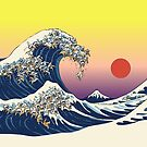 The Great Wave of Cat by Huebucket