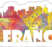 SAN FRANCISCO SKYLINE - MCLR Sticker