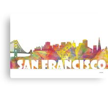 SAN FRANCISCO SKYLINE - MCLR Canvas Print