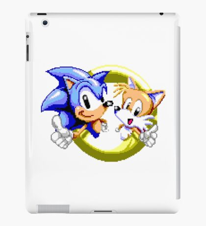 Sonic the Hedgehog - SEGA Genesis Sprite iPad Case/Skin