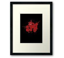 Raph Splat Framed Print