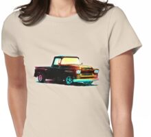 1959 Chevy Apache Truck - Vintage Style Womens Fitted T-Shirt