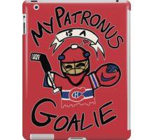 My Patronus is a Goalie (MTL Edition) iPad Case/Skin