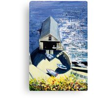 Old Lifeboat House, Lizard, Cornwall Canvas Print