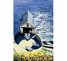 Old Lifeboat House, Lizard, Cornwall Photographic Print