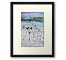 Mousehole Harbour, Cornwall Framed Print