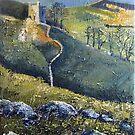 Peveril Castle, Castleton by Sue Nichol