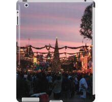 Disneyland Main Street at Christmas iPad Case/Skin