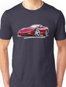 Chevrolet Corvette C5 Convertible Mag Red Unisex T-Shirt