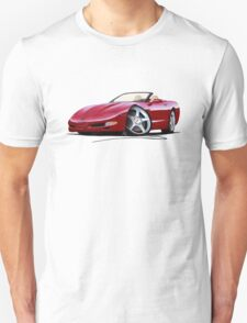 Chevrolet Corvette C5 Convertible Mag Red T-Shirt