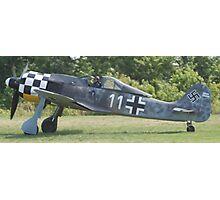 Focke Wolf FW-190 Photographic Print