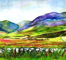 Pentland Hills, Edinburgh by Genevieve  Cseh
