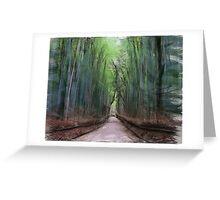 Bamboo Road Greeting Card