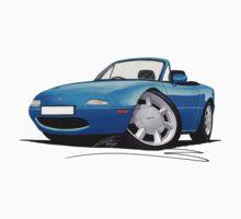 Mazda MX5 (Mk1) Blue by Richard Yeomans