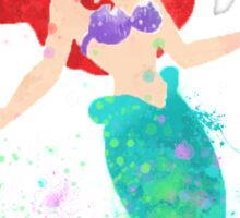 Disney // Ariel Watercolor Sticker