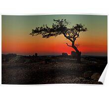 Sunset, Geelong (Australia)  Poster