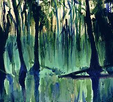 Old Southern Swamp by Genevieve  Cseh