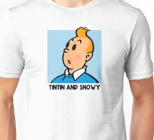 Tintin and Snowy: The Reality Unisex T-Shirt