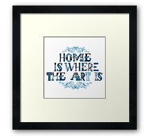 where is it Framed Print