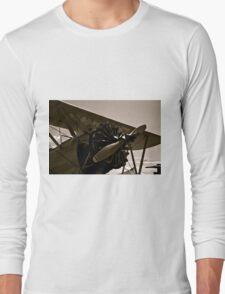 Vintage Bi Plane Long Sleeve T-Shirt