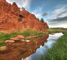 River Belle Fourche by Matt Halls