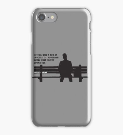 FORREST GUMP - CHOCOLATES iPhone Case/Skin